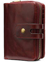 Кошелек женский Vintage 14920 Бордовый
