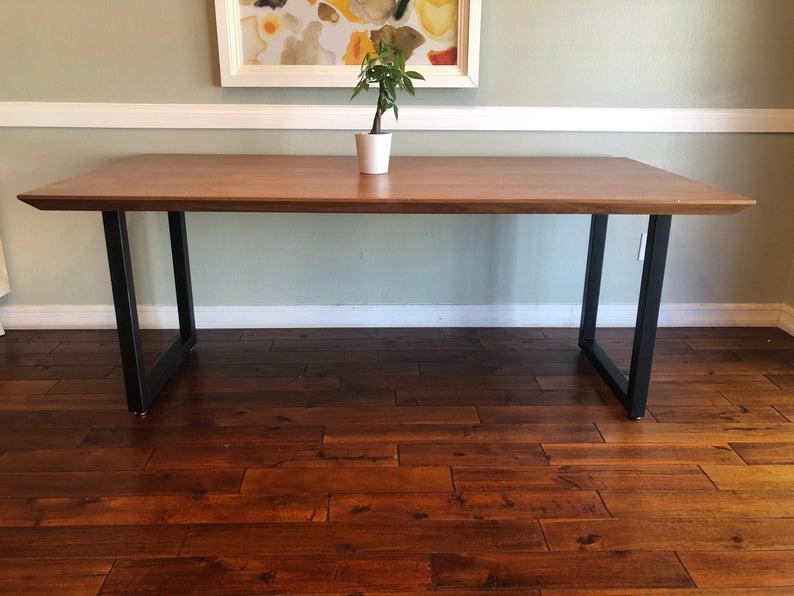"""Деревянный стол из массива дерева """"Рейз"""" в стиле LOFT"""
