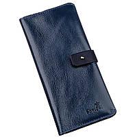 Бумажник унисекс из кожи алькор SHVIGEL 16201 Синий, фото 1