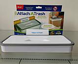 Мусорное ведро Attach-A-Trash, Навесной держатель мешка для мусора, Держатель для мусорных мешков, Товары для, фото 3
