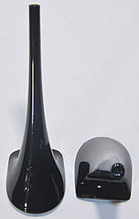 Каблук женский 9196 Kadir, 16 см, чёрный лак