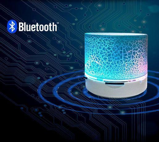 Портативная колонка S60 c LED подсветкой, Беспроводная портативная Bluetooth колонка S60, Колонка блютуз S60,