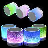 Портативная колонка S60 c LED подсветкой, Беспроводная портативная Bluetooth колонка S60, Колонка блютуз S60,, фото 6