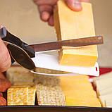 Универсальные кухонные ножницы Clever cutter, Нож-ножницы 3 в 1, Умный кухонный нож, Товары для кухни, фото 4