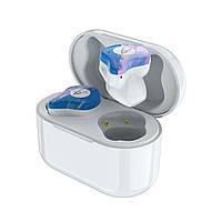 Беспроводные Bluetooth наушники Sabbat X12 Ultra Star cloud c поддержкой aptX (Бело-голубой)