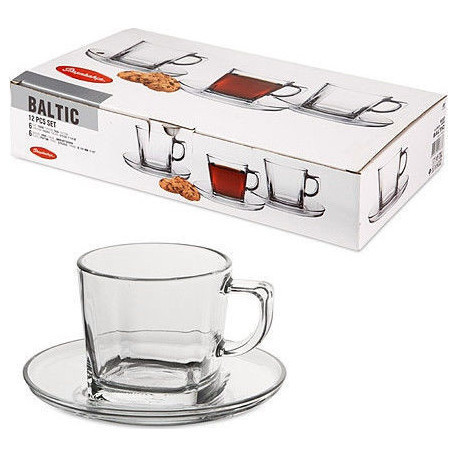 Чашка 215мл+блюдце 13см 12пр. Балтик 95307/П2