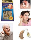 Слуховой аппарат Ciber Sonic, Слуховий апарат, Внутриушной слуховой аппарат, Цифровой усилитель звука/ магазин, фото 8