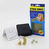 Слуховой аппарат Ciber Sonic, Слуховий апарат, Внутриушной слуховой аппарат, Цифровой усилитель звука/ магазин, фото 9