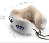 Массажер для шеи U-Shaped Massage Pillow, Подушка массажная для шеи, Массажер, Массажеры , фото 4