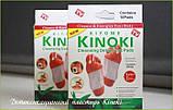 Пластырь очищающий для стоп Kinoki, лечебный пластырь для стоп, Лечебные пластыри, Красота и здоровье, фото 6