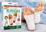 Пластырь очищающий для стоп Kinoki, лечебный пластырь для стоп, Лечебные пластыри, Красота и здоровье, фото 7