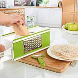 Овощерезка Multi purpose grater, Мультислайсер для овощей и фруктов, Терки для шинковки, Товары для кухни, фото 2