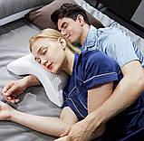 Подушка ортопедическая с эффектом памяти изогнутая, Ортопедическая подушка для сна, Подушки с эффектом памяти,, фото 3