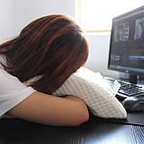 Подушка ортопедическая с эффектом памяти изогнутая, Ортопедическая подушка для сна, Подушки с эффектом памяти,, фото 8