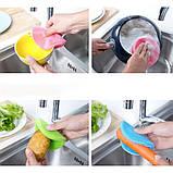КУХОННЫЕ СИЛИКОНОВЫЕ ЩЕТКИ BETTER SPONGE, Набор универсальных силиконовых щеток, Губки для посуды, Товары для, фото 9