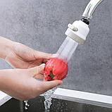 Экономитель Воды Water Saver 360 градусов, Насадка на кран (аэратор), Экономитель воды, Товары для дома , фото 2