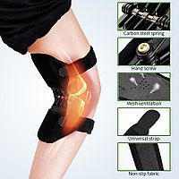 Поддержка коленного сустава Power Knee, Наколенник с функцией корсета для коленного сустав, Медицинский корсет