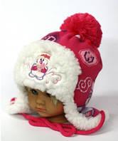 Шапка Снежка детская для девочки