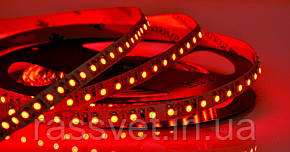 """Світлодіодна LED стрічка гнучка 12V IP20 2835\120 Series """"S"""", Червоний"""