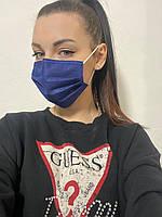 Медицинские маски одноразовые с фиксатором 50шт с фиксатором