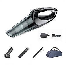 Автопилосос Baseus Shark One H-505 Wireless car Vacuum Clener black 65 Вт 2400 мАч (ACH505-B01), фото 3