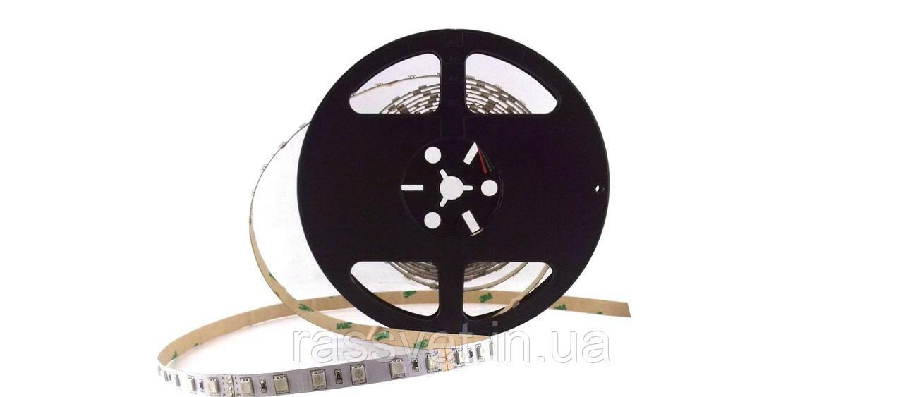 Светодиодная LED лента гибкая 12V  IP20 5050\60 Standard PLUS PL-12-5050-60-RGB-NWP-SG, RGB