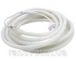 Светодиодный гибкий неон  Круглый 2835\120 IP68 220V D15, Белый