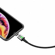 Кабель с отдельным магнитным коннектором Baseus Zinc Magnetic iPhone Cable 2.4 A 1 м (CALXC-A01), фото 2