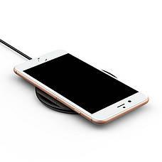 Беспроводная зарядка 10 Вт QC 2.0 для Iphone и других смартфонов Baseus Wireless Charger Simple black (CCALL-JK01), фото 2