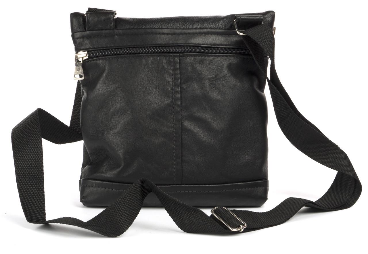 Удобная мужская маленькая кожаная сумка art. 316-1