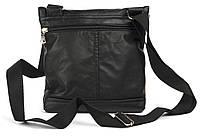 Удобная мужская маленькая кожаная сумка art. 316-1, фото 1