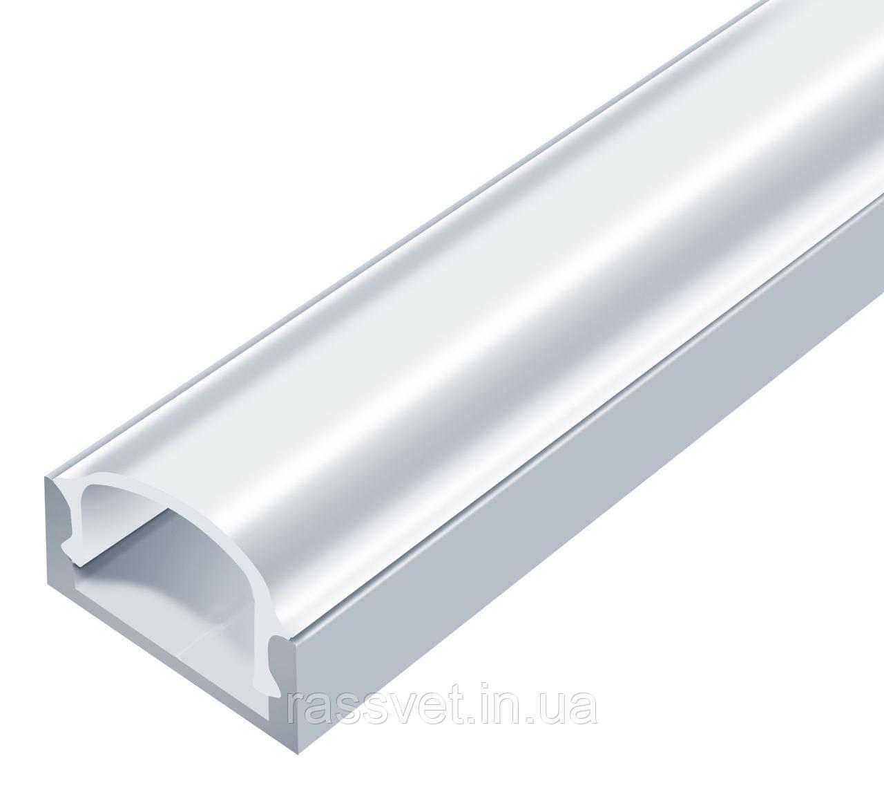 Алюминиевый Профиль- Накладной, Анодированный (Комплект)