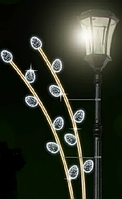 Кронштейн на опору світлодіодний 300Х100СМ