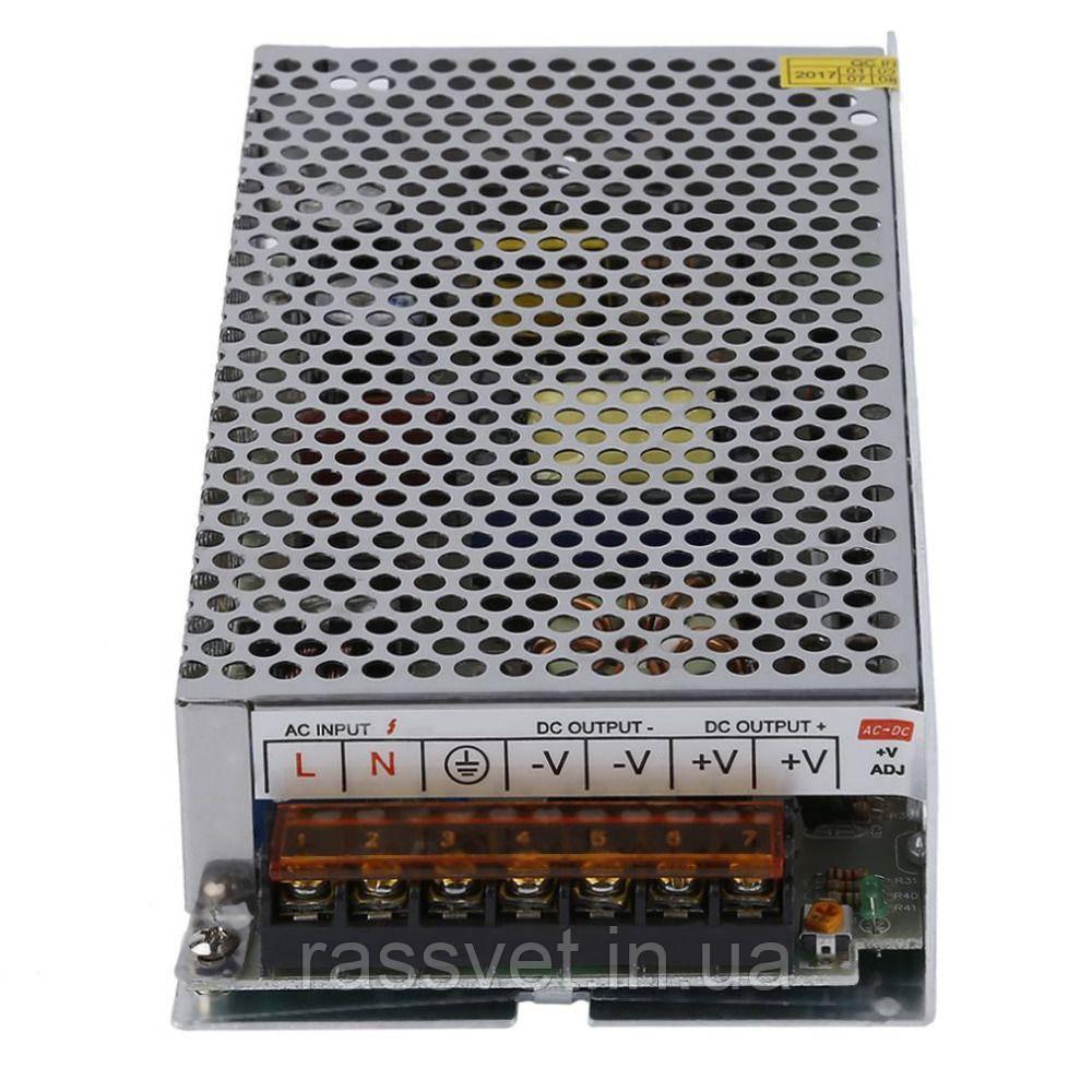 """Блок питания импульсный  100W 12V (IP20, 8,33A) Series """"S"""""""