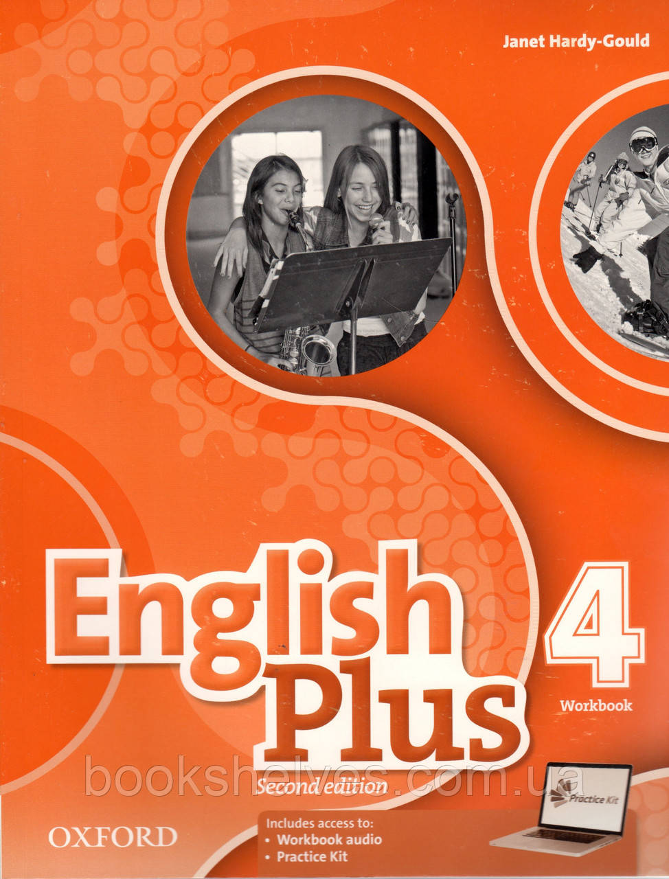 Рабочая тетрадь  English Plus 2nd Edition 4 Work book