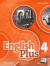 Рабочая тетрадь  English Plus 2nd Edition 4 Work book