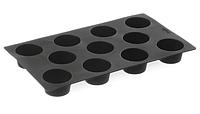 Форма силиконовая Mini-Muffins Hendi 676905, 11 ячеек
