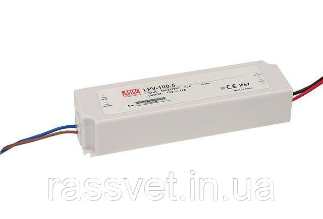 "Блок питания импульсный Mean Well 102W 12V (IP67,8,5A) Series ""LPV"""