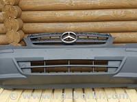 Бампер передний Mercedes Vito W639 2010-2014 (Бампер Структурный Решетка рад. не съемная =ГРУЗОВОЙ= 050320