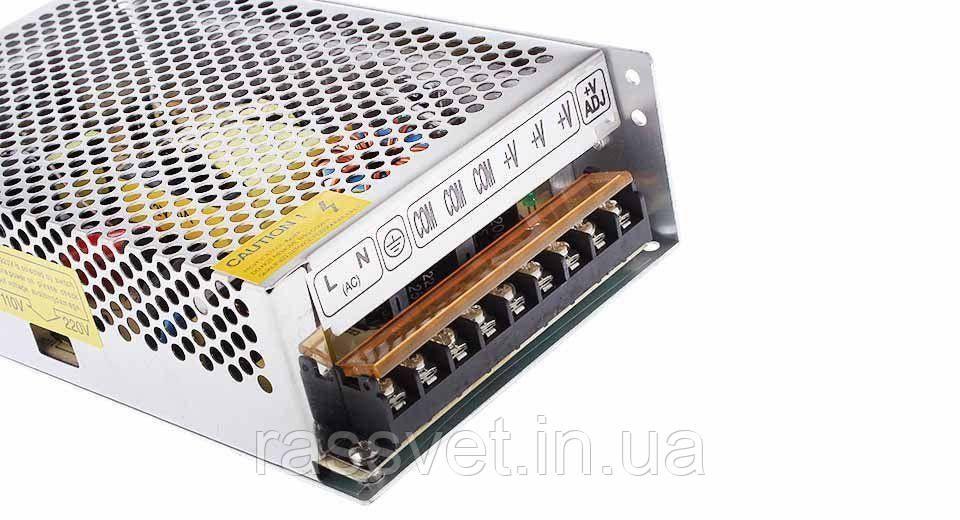 """Блок питания импульсный  200W 12V (IP20,16,6A) Series """"S"""""""