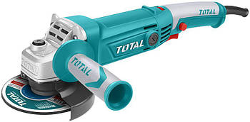 УШМ TOTAL TG1121256-3 кутова, 1010Вт, 125мм, 5000-12000об/хв.