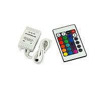 Контроллер RGB PROLUM инфракрасный (IR, 24 кнопки 6A)