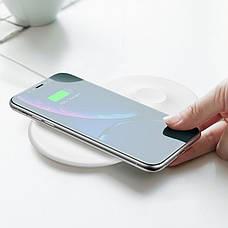 Беспроводная зарядка 7.5-10 W Baseus iPhone (Android) и Apple Watch Type-C (WX2IN1P20-02), фото 3