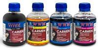 Чернила WWM Carmen для Canon (200ml) все цвета.