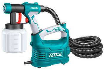 Фарбопульт TOTAL  TT5006, з напільного базою, 500Вт, 800мл.