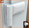 Петля дверная KT-N 140 кг. (Dr.Hahn) для ПВХ дверей (Германия)