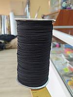 Резинка швейная плотная чёрная 0,3 см (130 метров), фото 1