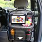 Органайзер со столиком на спинку сиденья в автомобиль, Тёмно-Серый, фото 2