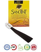 Натуральная швейцарская растительная краска для волос серии СаноТинт/SanoTint VIVASAN Original 125мл GMP Sertified №6 Темно-каштановый