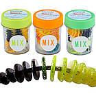 Силікон Balzer Trout Collector 7см 1,5 гр. Color Mix 3 (їстівний Pellet), фото 2